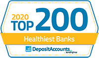 2020 Top 200 Healthiest Banks Logo